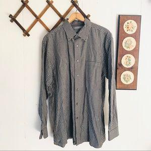 Daniel Cremieux Plaid Cotton Button Down Shirt